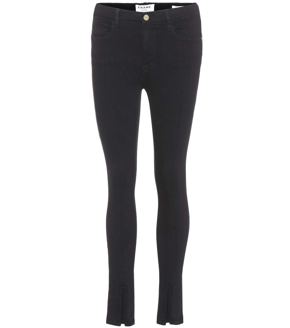 Frame Le High Skinny Jeans In Fieo