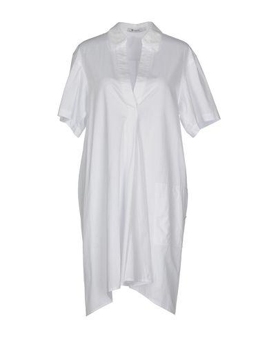 Alexander Wang T Short Dresses In White