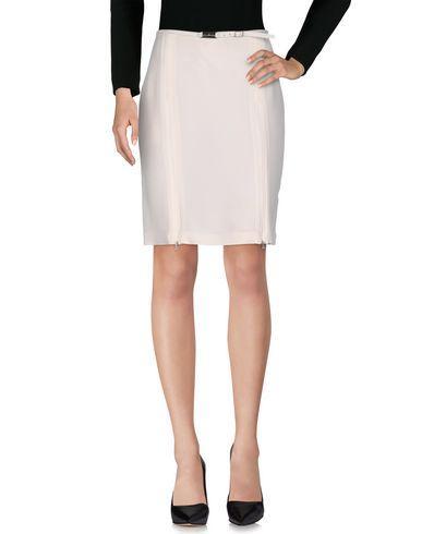 John Richmond Knee Length Skirt In White