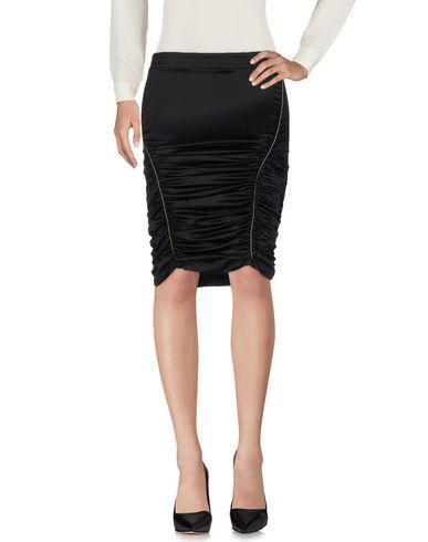 John Richmond Knee Length Skirts In Black