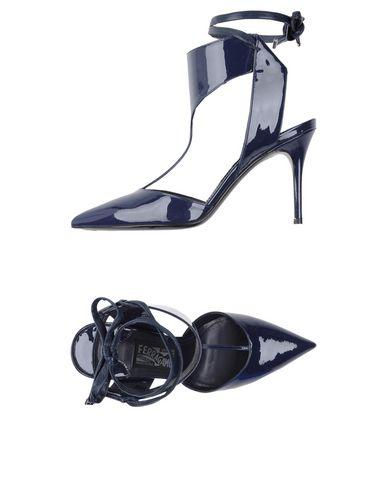 Salvatore Ferragamo Pump In Dark Blue