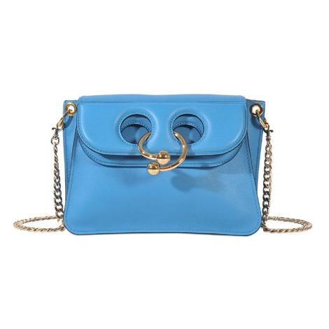 Jw Anderson J.W. Anderson Women's  Light Blue Leather Shoulder Bag