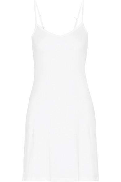 Hanro Ultralight Mercerized Cotton Slip In White
