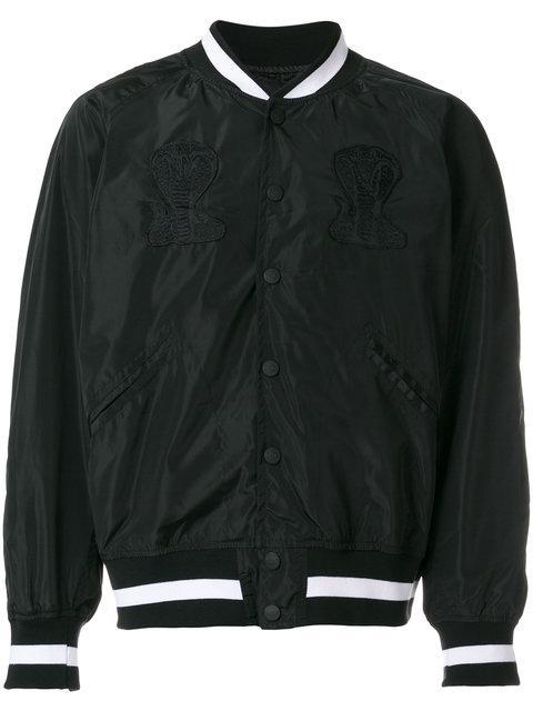Ktz United Poison Embroidered Jacket - Black