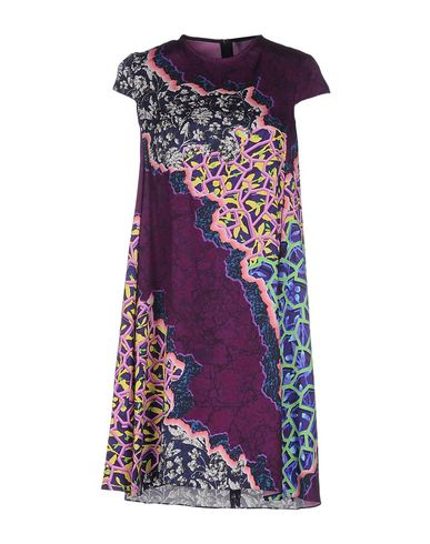 Peter Pilotto Short Dress In Mauve