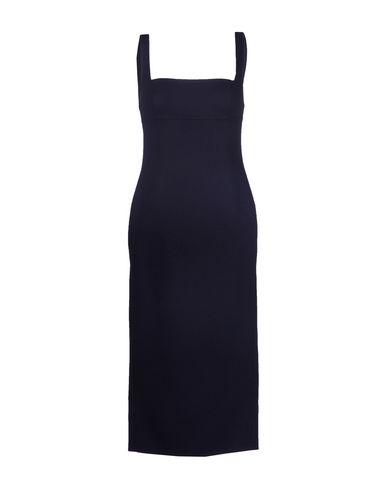 Rochas Midi Dress In Dark Blue