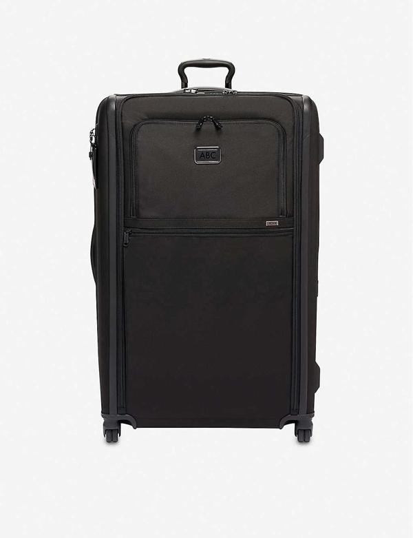 Tumi Worldwide Trip Expandable 4-wheeled Suitcase In Black