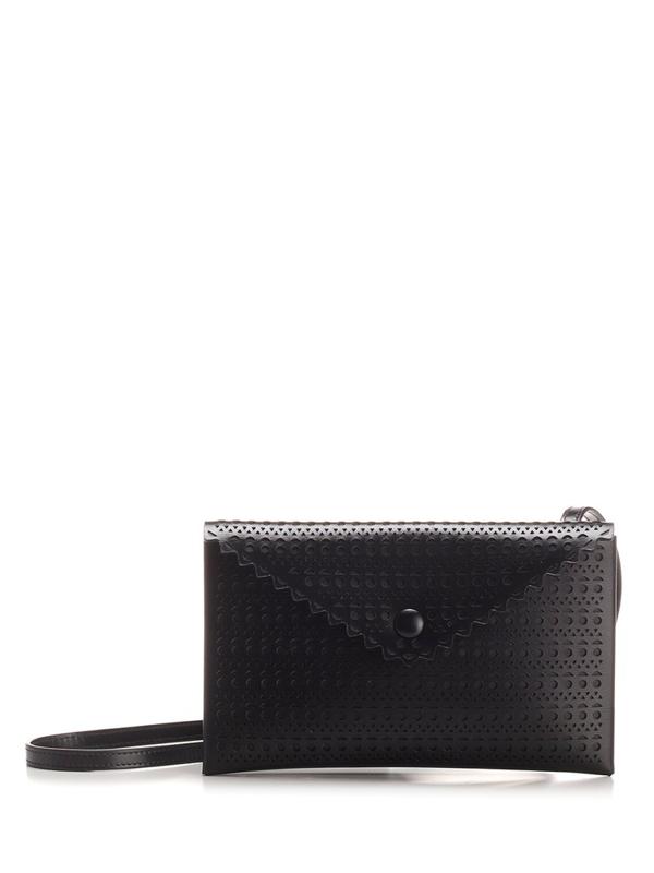 Alaïa Louise 20 Clutch Bag In Black