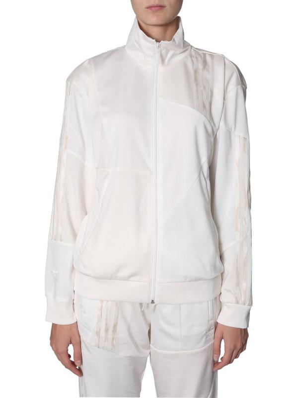 Adidas By Danielle Cathari Firebird Track Jacket In White