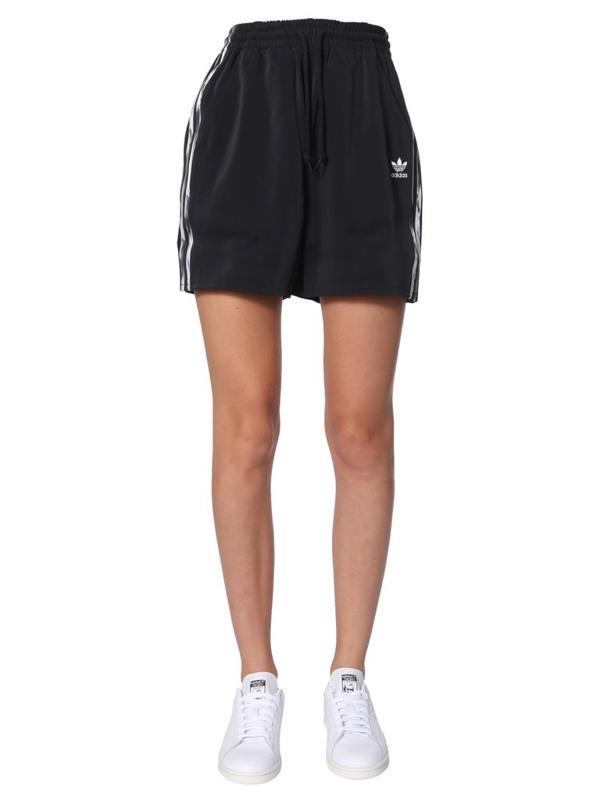 Adidas By Danielle Cathari Side Stripe Shorts In Black