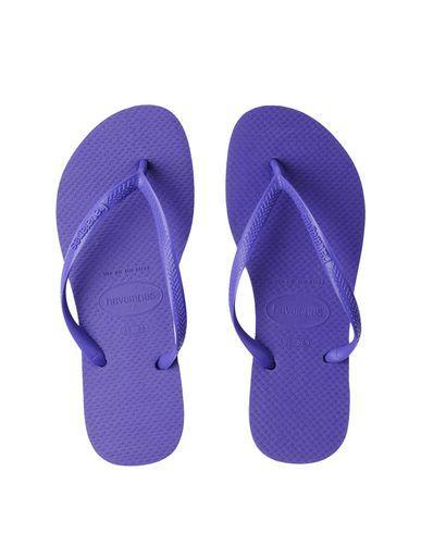 Havaianas Flip Flops In Purple