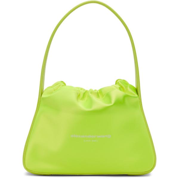 Alexander Wang Yellow Small Ryan Bag In Neon Celandine