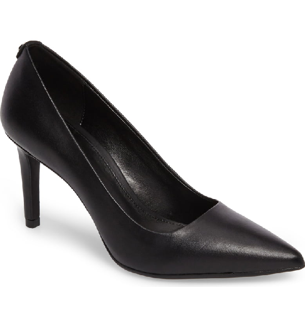 445686161d8 Women's Dorothy Flex Leather Pointed Toe High-Heel Pumps in Black Leather