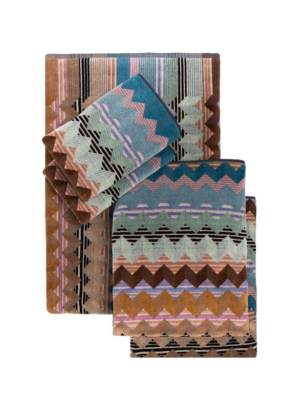 Missoni Alfred Towel Set In Blue