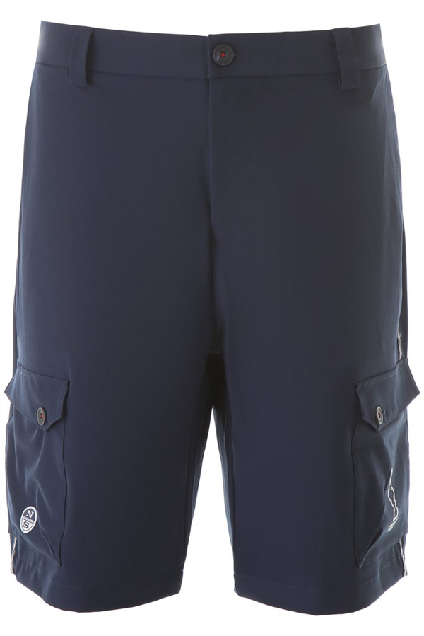 North Sails X Prada Cup America's Cup Cargo Shorts In Navy