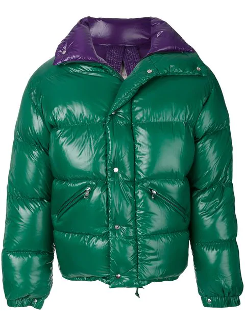 29c8cf004 Oversized Tech-Taffeta Puffer Coat in Green