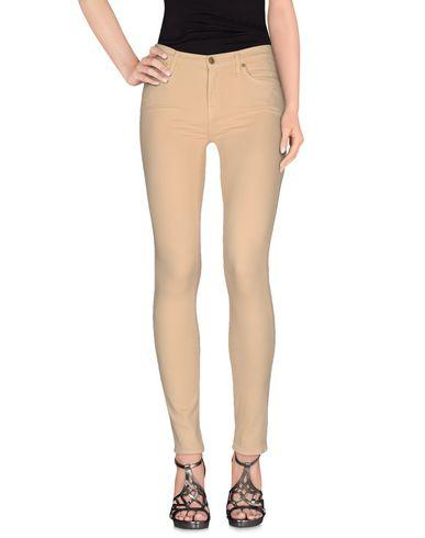 7 For All Mankind Denim Pants In Sand