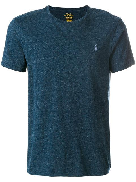 Polo Ralph Lauren Classic Logo T-Shirt In Blue