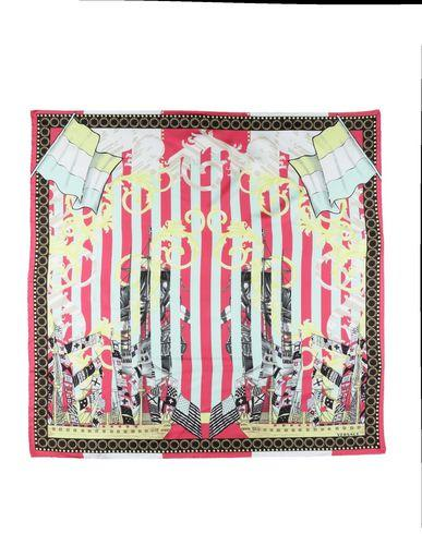 Versace Square Scarves In Red