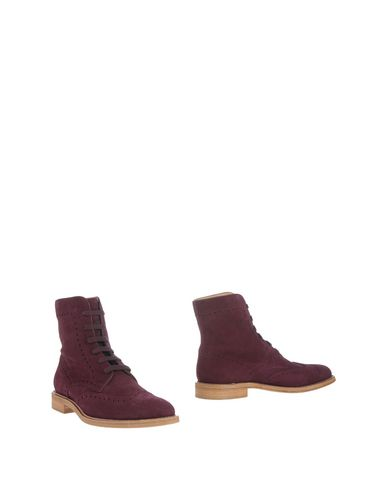 Tod's Ankle Boots In Deep Purple