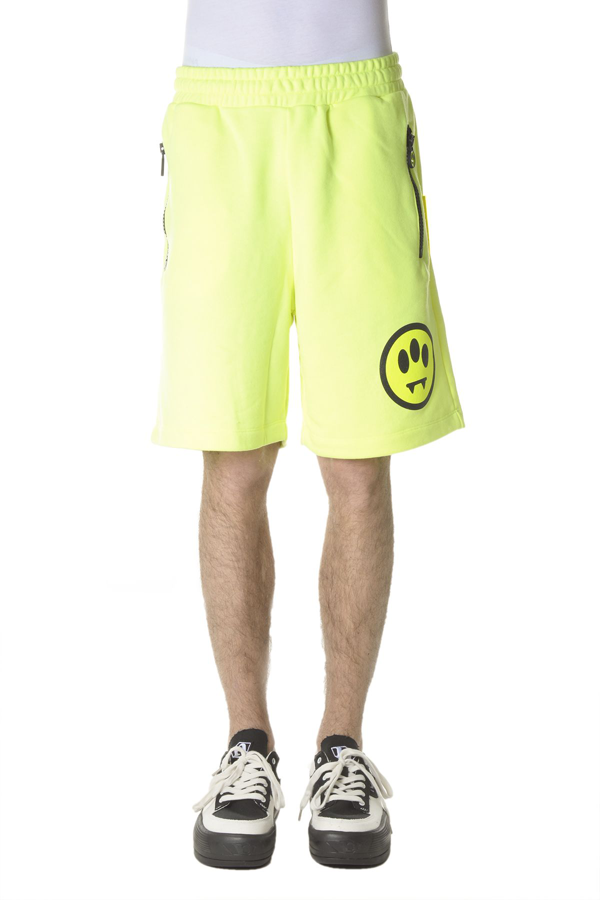 Barrow Men's 026779023 Yellow Cotton Shorts