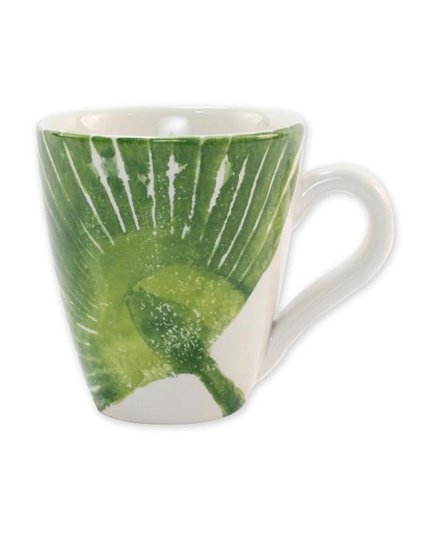 Vietri Into The Jungle Palm Leaf Mug