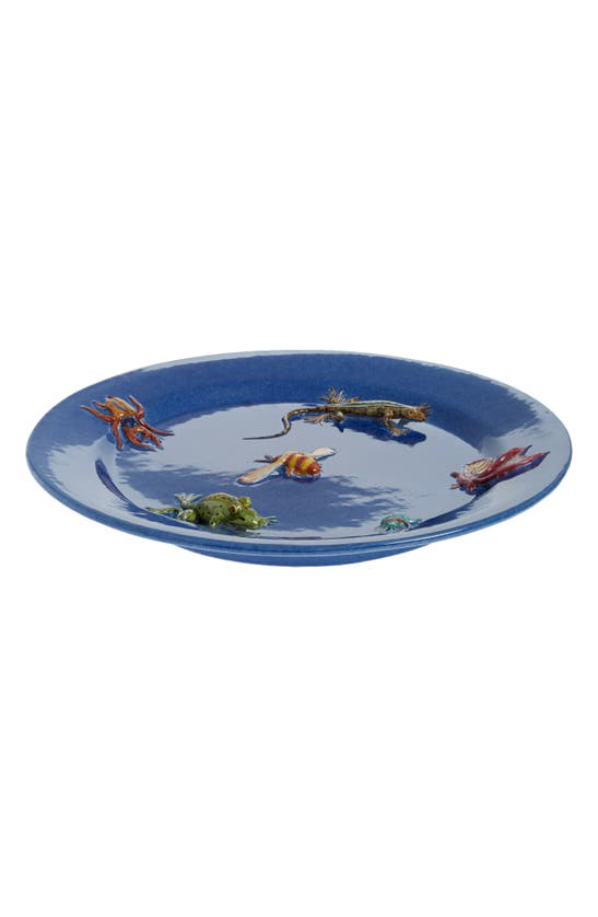 Etro Blooming Centerpiece Dish In Blue
