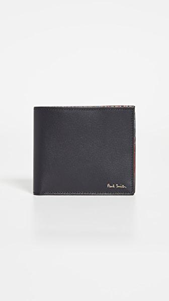 Paul Smith Billfold Wallet In Black