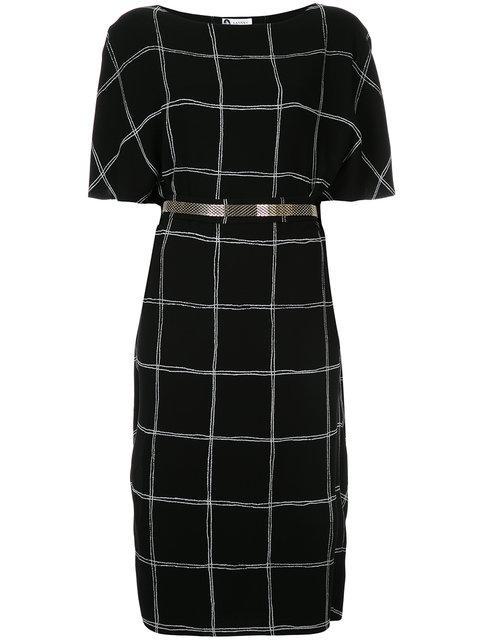Lanvin Boat Neck Dress - Black