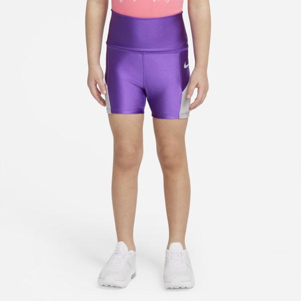 Nike Babies' Toddler Bike Shorts In Wild Berry