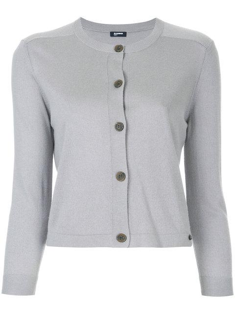 Jil Sander Fitted Knitted Cardigan