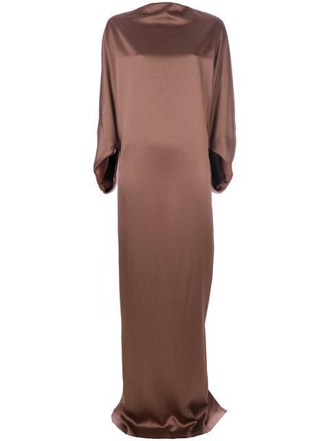 Chalayan Floor Length Satin Dress