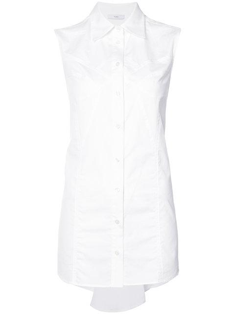 Tome Button Up Shirt - White