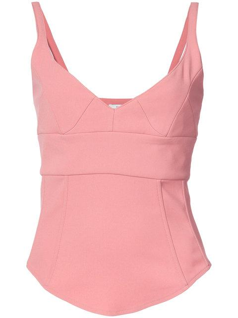 Tome Structured Tank Top - Pink In Pink & Purple