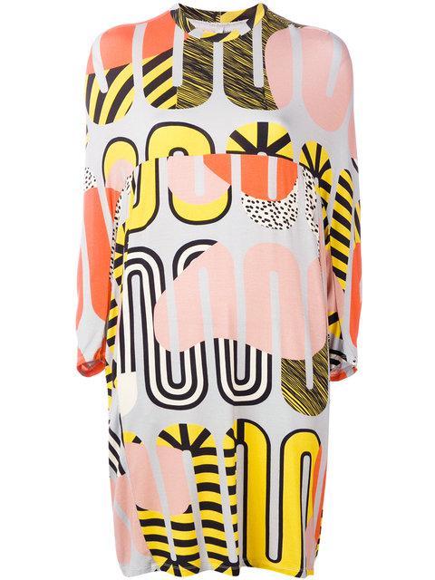 Henrik Vibskov Whoop Loop Print Dress
