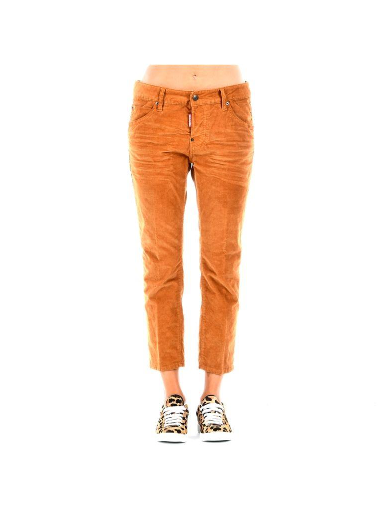 Dsquared2 Dsquared Pants In Browngiallo