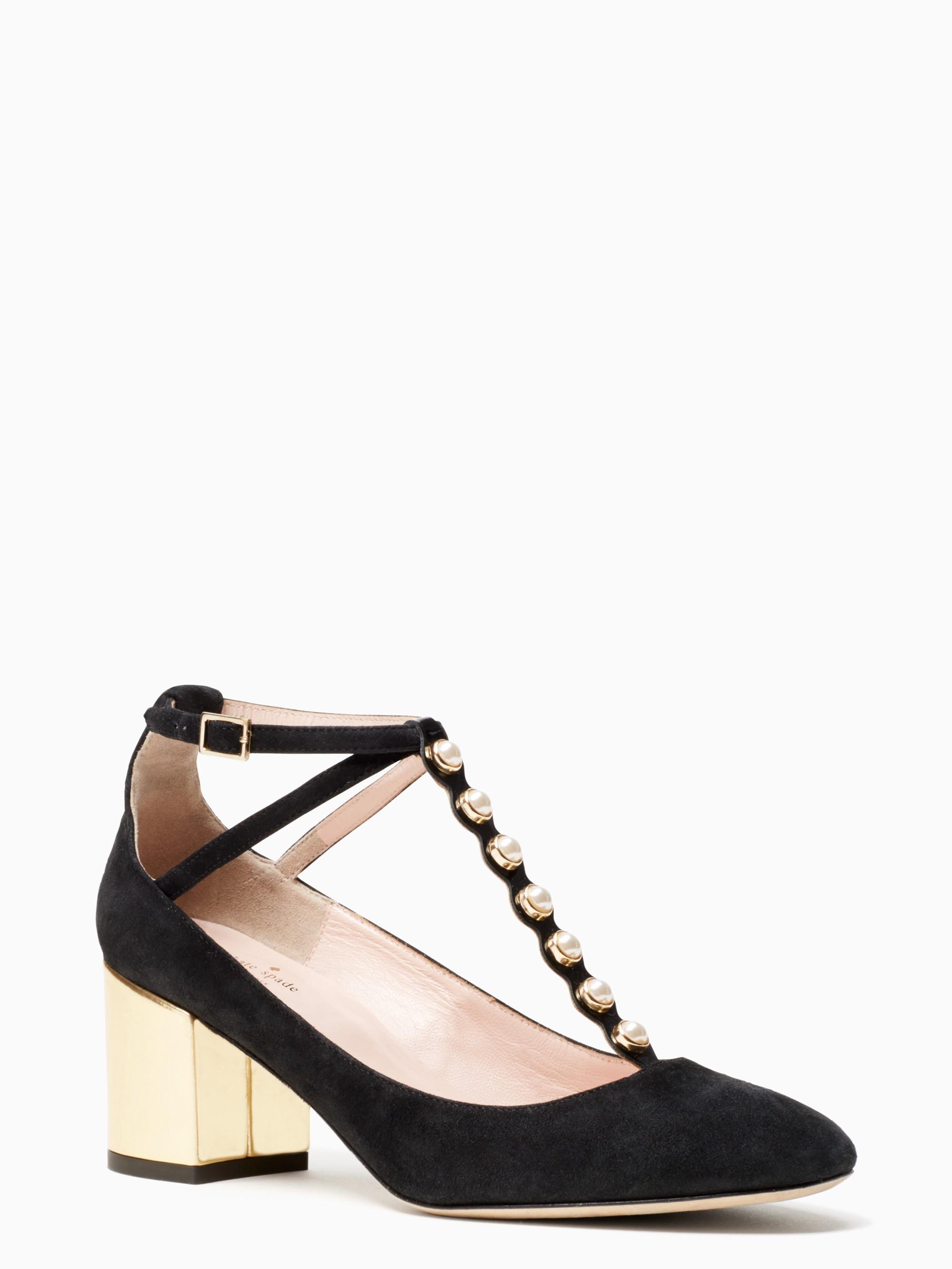 Kate Spade Galewood Heels In Black