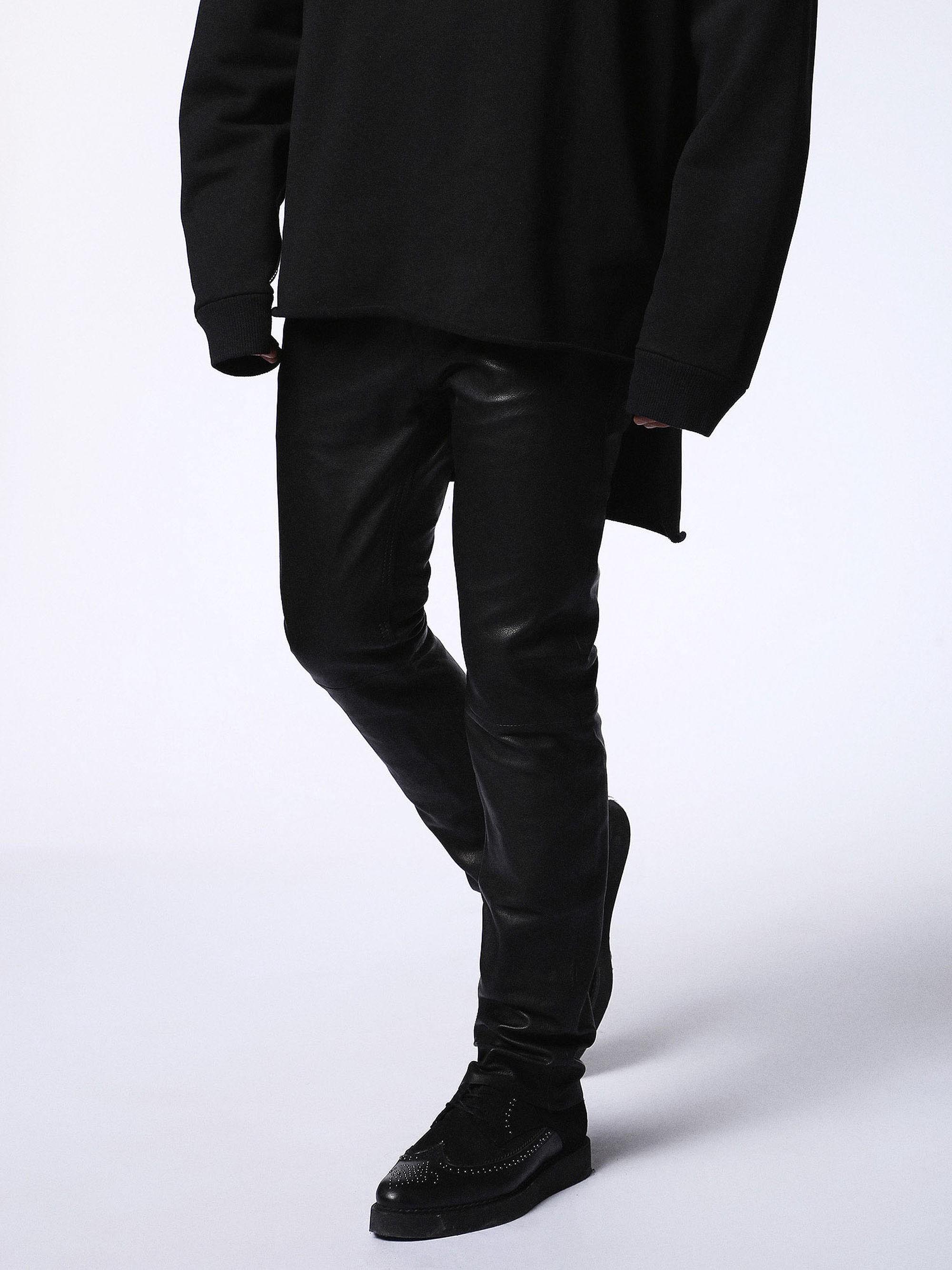 92de8f4a Diesel P-Thavar-L Leatherpants In Black | ModeSens