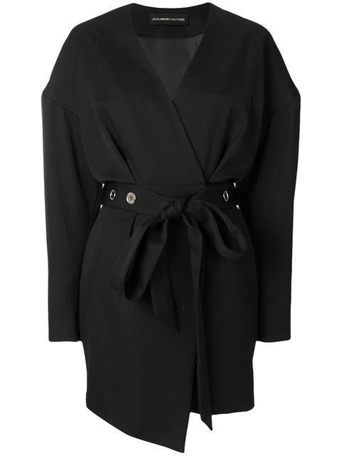 Alexandre Vauthier Hipbelt Dress - Black