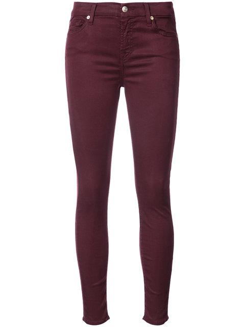 7 For All Mankind Pink & Purple