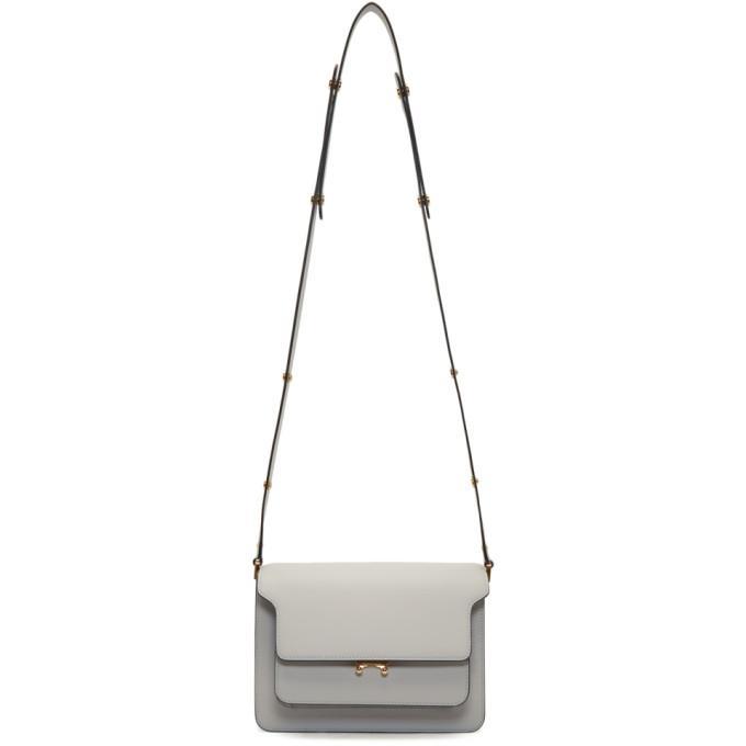 Marni Bag Trunk Bag In Skin Color Off-white In Pelican