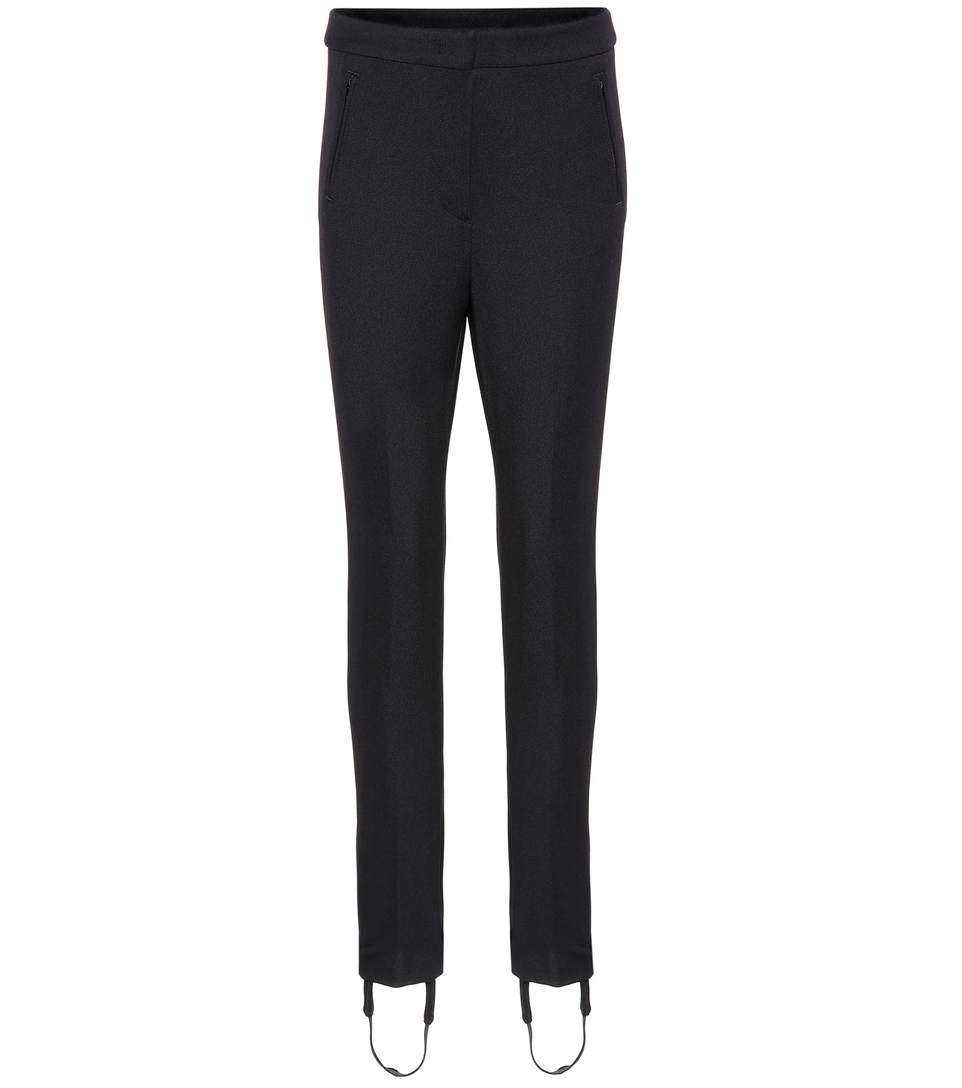 Moncler Stirrup Trousers In Black