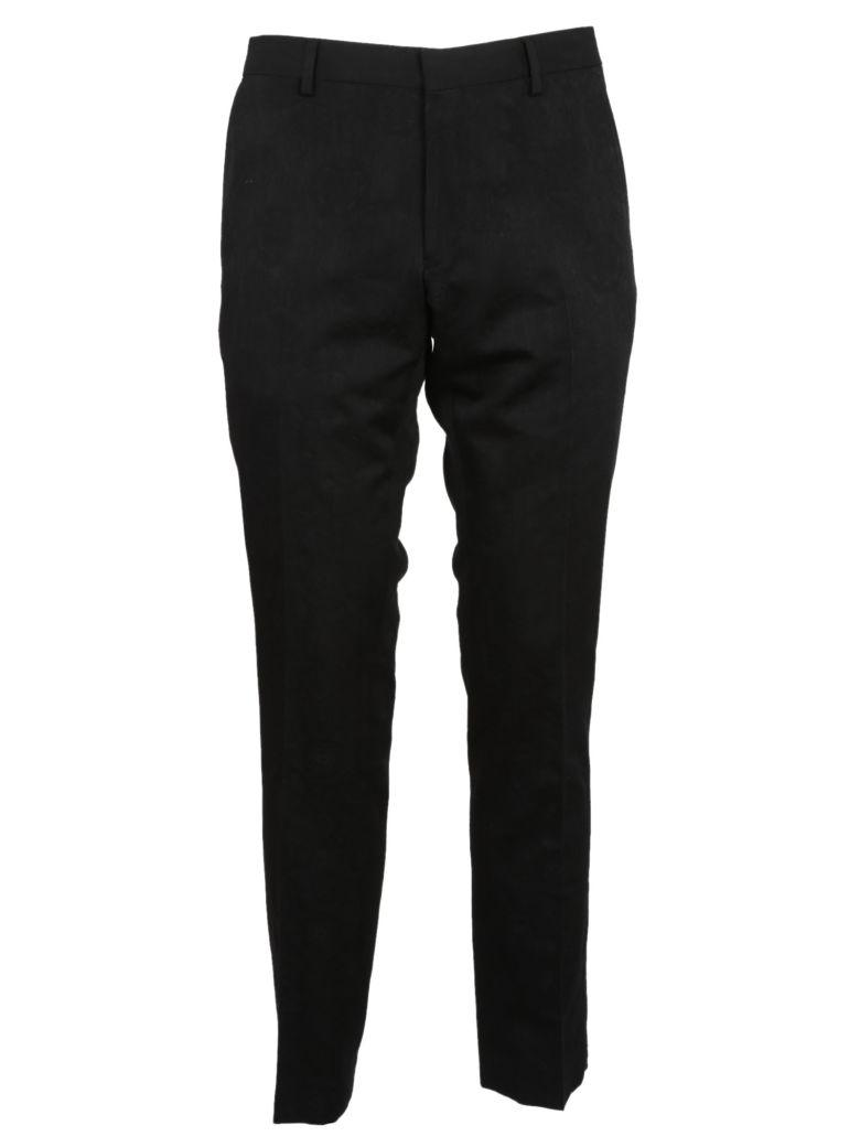 Dries Van Noten Patrini Slim Trousers In Black
