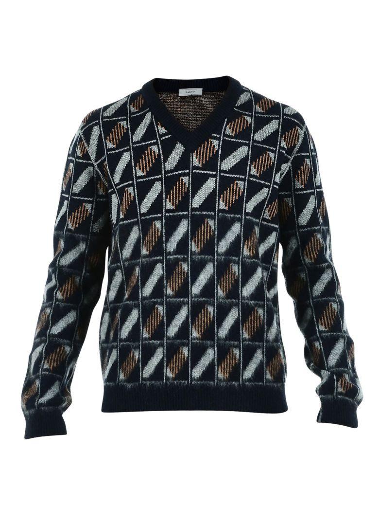 Lanvin Sweater In Black