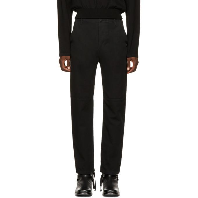 Balenciaga Utility Slim Leg Trousers In 4089 Double Stone Wa
