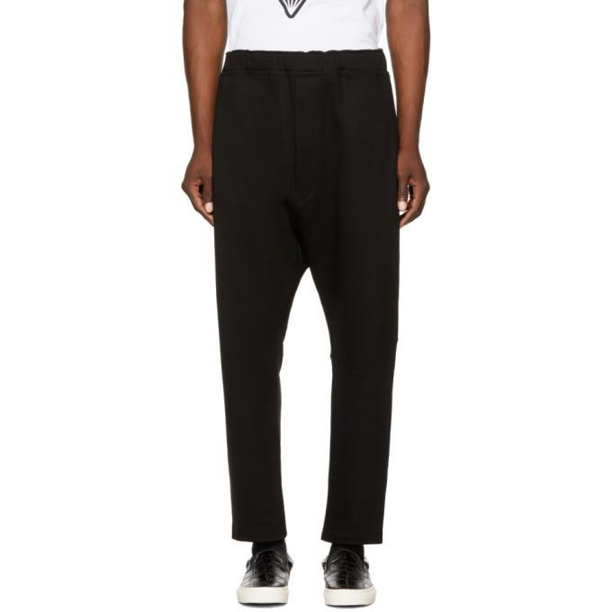 Junya Watanabe Cotton Trousers In 1 Black