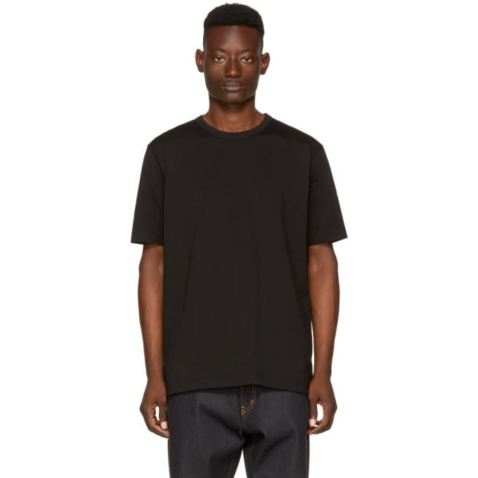 Junya Watanabe Black 'man Can't Live Without Hip' T-shirt