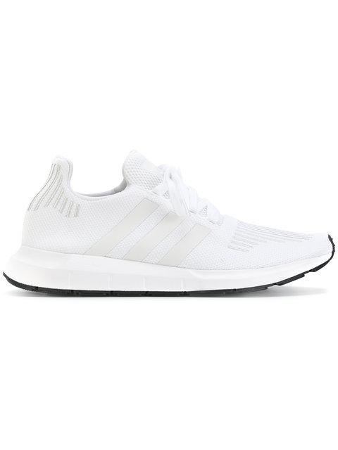 65a060a4eaf3 Adidas Originals Adidas Men s Swift Run Casual Sneakers From Finish Line In  Footwear White Crystal