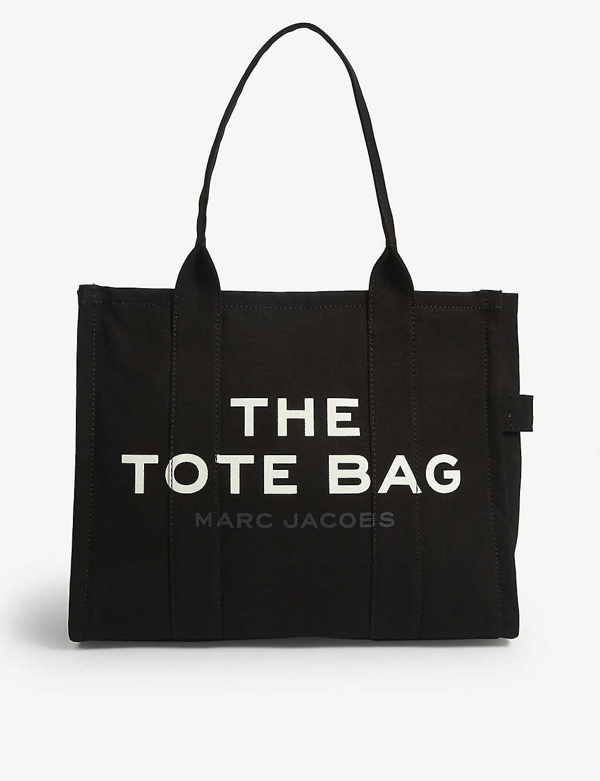 Marc Jacobs The Tote Canvas Tote Bag In Black