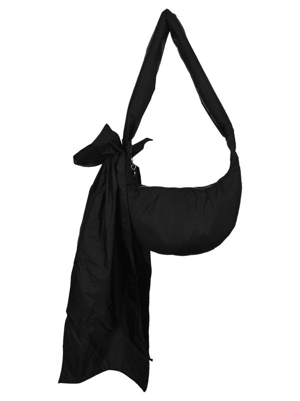 Red Valentino Redvalentino Maxi Bow Shoulder Bag In Black